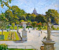 George Oberteuffer: Luxembourg Gardens