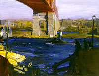 George Bellows: The Bridge, Blackwell's Island