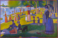 Georges Seurat: A Sunday on La Grande Jatte — 1884
