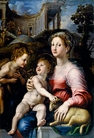 Giulio Romano: The Madonna and Child with Saint John the Baptist