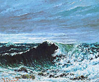 Gustave Courbet: The Wave (2)