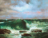 Gustave Courbet: Waves