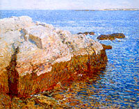 Frederick Childe Hassam: Cliff Rock - Appledore
