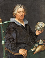 Hendrik Goltzius: Portrait of the Shell Collector Jan Govertsen van der Aer (1545–1612)