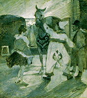 Henri de Toulouse-Lautrec: In the Wings at the Circus