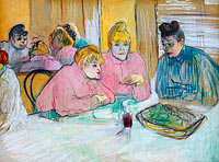 The Ladies in the Dining Room
