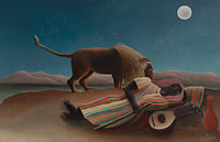Henri Rousseau: The Sleeping Gypsy (1)