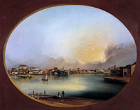 Генри Джозеф Джексон: View of Charleston (View from the West)