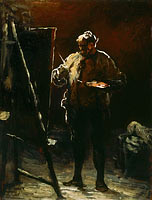 The Painter at His Easel