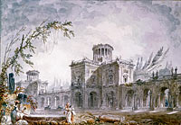 Hubert Robert: Architectural Fantasy, 1760