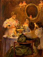 Irving Ramsay Wiles: Russian Tea