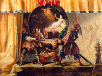 Jacques Vigoureux Duplessis: Painted Fire Screen