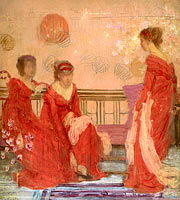 James McNeill Whistler: Harmony in Flesh Colour and Red