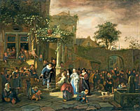 Jan Havickszoon Steen: The Village Wedding (1)