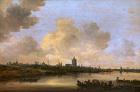 Ян ван Гойен: View of the City of Arnhem