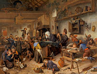 Jan Havickszoon Steen: A School for Boys and Girls