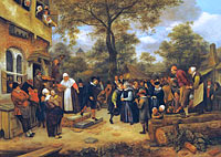 Jan Havickszoon Steen: Village Wedding (2)