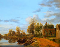Country House on the Vliet near Delft