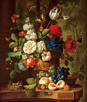 Jan van Os: Flowers