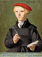 Jan van Scorel: Portrait of a young scholar