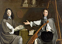 Jean-Baptiste de Champaigne and Nicolas de Plattemontagne: Double Portrait of both Artists