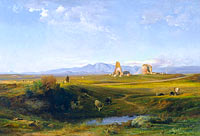 Jean-Achille Benouville: A View of the Roman Countryside