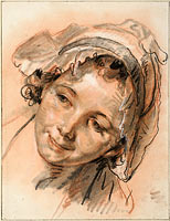 Head of Smiling Girl, c. 1765