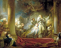 Jean-Honoré Fragonard: The Sacrifice of Callirhoe
