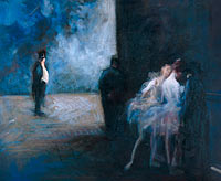 Jean-Louis Forain: Backstage―Symphony in Blue