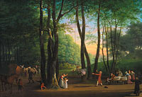 Jens Juel: The Dancing Glade at Sorgenfri, North of Copenhagen