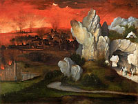 Joachim Patinir: Landscape with the Destruction of Sodom and Gomorrah