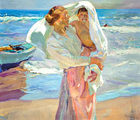 Joaquín Sorolla: After Bathing