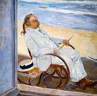 Joaquín Sorolla: Antonio García at the Beach