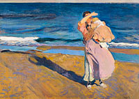 Joaquín Sorolla: Fisherwomen with her son