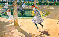 Joaquín Sorolla: The Skipping Rope