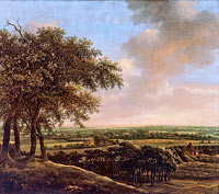 Ян Лагор: Landscape with Four Trees