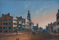 John Caspar Wild: Fourth Street - West From Vine
