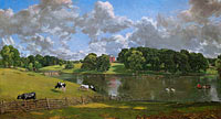 John Constable: Wivenhoe Park, Essex