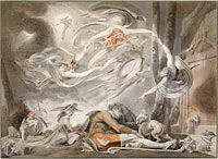 Henry Fuseli: The Shepherd's Dream, 1786