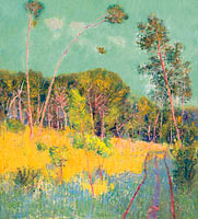 John Peter Russell: A clearing in the forest