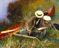 John Singer Sargent: An Out-of-Doors Study