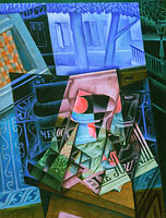 Juan Gris: Still Life before an Open Window, Place Ravignan
