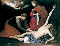 Saint Sebastian Tended by the Holy Women