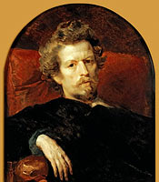 Karl Briullov: Self portrait