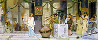 Lawrence Alma-Tadema: The vintage festival