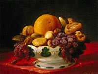 Lilly Martin Spencer: Oranges, Nuts, and Figs