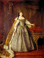 Louis Caravaque: Portrait of Empress Anna Ioannovna
