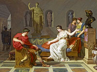 Louis Gauffier: Cleopatra and Octavian