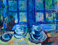 Ludvig Karsten: The blue Kitchen