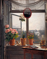 Мартинус Рёрби: View from the Artist's Window
